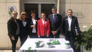 La Junta muestra su apoyo a la AECC de Cuenca y destaca los avances en el diagnóstico precoz y el tratamiento del cáncer