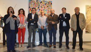 La sala de exposiciones de Princesa Zaida acoge una exposición de sobre el mundo del toro visto por una veintena de artistas conquenses