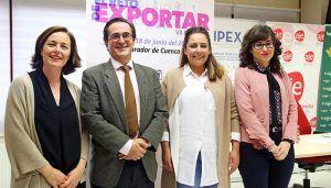 Las exportaciones de Castilla-La Mancha registran un incremento de un 40 por ciento en el primer trimestre del año, respecto a las mismas fechas de 2014