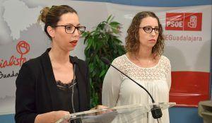 Lucía de Luz será la portavoz del PSOE en el Ayuntamiento de Guadalajara en sustitución de Daniel Jiménez