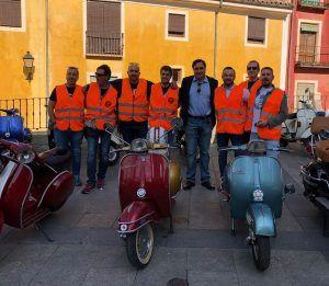 Mariscal da la bienvenida a 200 participantes de la III Concentración Nacional del Vespa Club Cuenca