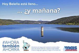 Campaña ahorro agua MAS
