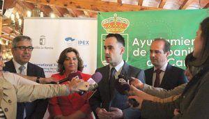 Salinas anuncia en el Foro de Capital Extranjero el próximo inicio de obras del polígono industrial ST-31