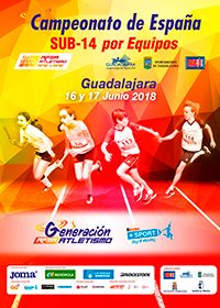 Un total de 480 atletas se darán cita en el Campeonato Sub14 por equipos que se celebra en Guadalajara
