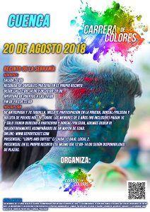 Abierto el plazo de inscripción de la Carrera de Colores en Cuenca