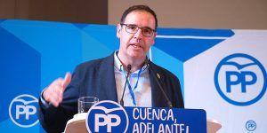 Benjamín Prieto, miembro de la Mesa del XIX Congreso Nacional Extraordinario del PP