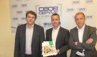 CEOE-Cepyme Cuenca recibe la memoria anual de Mercadona de parte de su director provincial
