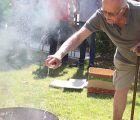 Comienza un reparto de extintores en Cabanillas a personas ancianas, para prevenir accidentes domésticos