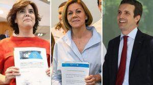 """Cospedal deja su futuro político en el aire y pide un """"periodo de reflexión"""" por el bien del Partido Popular y de toda España"""