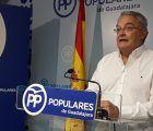 """De las Heras define la política de Page y del PSOE en relación al trasvase Tajo-Segura """"Hipocresía, traición y mentiras"""""""