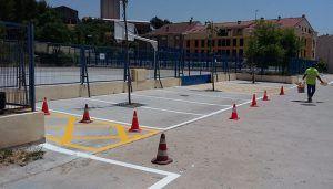 El Ayuntamiento de Brihuega habilita un nuevo aparcamiento en la explanada de los centros educativos, a la entrada del municipio