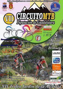 El domingo 5, VII Trofeo Jardín de la Alcarria, quinta prueba del Circuito MTB Diputación de Guadalajara