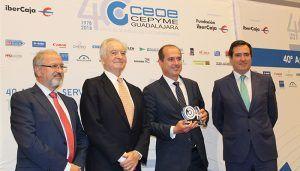 El Gobierno regional felicita a CEOE-CEPYME Guadalajara por sus 40 años de trabajo en favor de la dinamización económica de la provincia