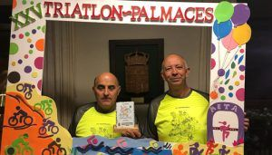 El Triatlón de Pálmaces reconoce la colaboración de la Diputación de Guadalajara en su XXV aniversario