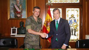Eurocaja Rural colabora con la Academia de Infantería de Toledo