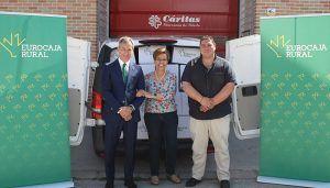 Eurocaja Rural dona a Cáritas Toledo 1.500 kilos de alimentos de su 'Desafío'