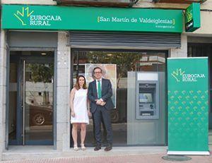Eurocaja Rural expande su red comercial en Madrid y abre oficina en San Martín de Valdeiglesias