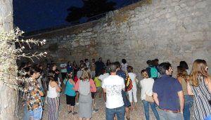 Excelente respuesta del público a las visitas guiadas nocturnas en el Parque Arqueológico de Segóbriga