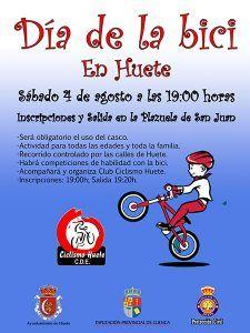 Huete organiza por segundo año consecutivo el Día de la Bici