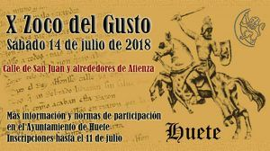 Huete prepara un amplio programa de actividades para celebrar el Zoco del Gusto 2018