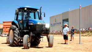 Jesús Miguel Benito Grande, de Tomelloso, gana la sexta edición del concurso de `Habilidad con Tractor y Remolque´ en la FIDA 2018