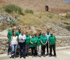 Junta y Ayuntamiento de Enguídanos ponen en marcha un taller de empleo para acondicionar el acceso a las Chorreras