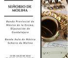 La Banda Provincial y del Aula de Música Señorío Molina ofrecerán mañana un concierto conjunto