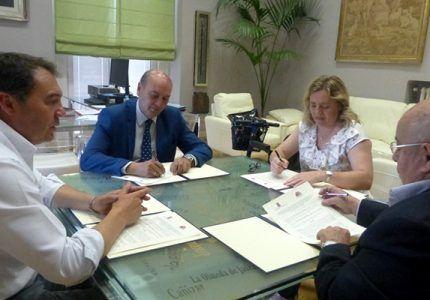 La Diputación de Guadalajara presta su ayuda a la Asociación de Esclerosis Múltiple para el desarrollo de sus programas y terapias