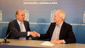 La Diputación de Guadalajara y CEOE-CEPYME reafirman su apoyo a los empresarios de la provincia ampliando su colaboración