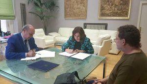 La Diputación y la Asociación de la Prensa de Guadalajara renuevan el convenio de colaboración