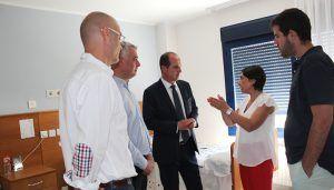 La Junta invertirá 53.427 euros en la mejora de instalaciones y equipamiento de la residencia de mayores Los Nogales, en Fontanar