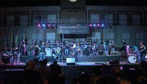 La Plaza del Pueblo vivió un espectacular KavaniJam, en la segunda edición del festival