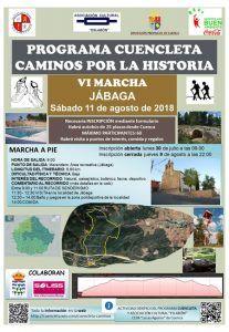 LaVI Marcha Caminos por la Historia llega este sábado a Jábaga