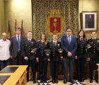 Los nuevos policías locales de Cuenca toman posesión de su cargo