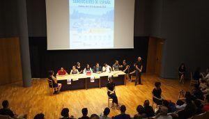 Mariscal da la bienvenida a los participantes del XVI Encuentro de Jóvenes Sordociegos de España