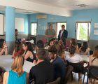 Mariscal visita a los alumnos del Curso de Monitor de Actividades Juveniles