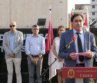 Miguel Ángel Blanco y todas las víctimas del terrorismo reciben un año más un sentido homenaje de los conquenses