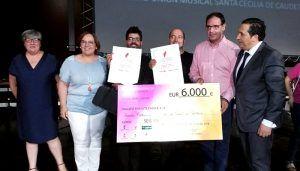 Prieto subraya la búsqueda de la excelencia del Certamen Regional de Bandas de Música Villa de Mota del Cuervo