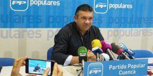 """Sáiz rotundo """"El ATC se va a hacer en Villar de Cañas porque este pueblo es su sede"""""""
