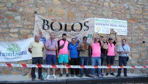 Uña vence en la cita de Buenache de la Sierra del Circuito Diputación de Bolos 'Serranía de Cuenca'