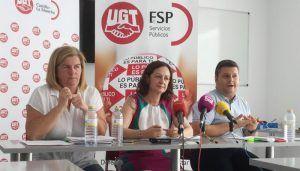 """UGT rechaza el VII Convenio de Dependencia porque """"empeora"""" las condiciones laborales de las 19.000 personas del sector en la región"""