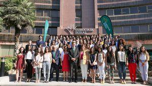 Un total de 96 universitarios comienzan sus prácticas en Eurocaja Rural