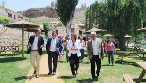 Zorita de los Canes, en la provincia de Guadalajara, cuenta con un nuevo parque fluvial que servirá para potenciar el turismo de la comarca