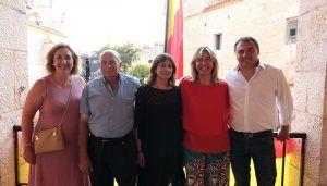 Ana Guarinos pregona las fiestas de Escariche