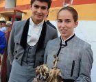 Carla Otero y Jesús Romero triunfan en el V Certamen de Tauromaquia 'Ivan Fandiño' de Pastrana