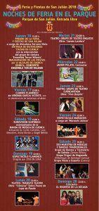 Cuenca prepara para las fiestas de San Julián diez días de espectáculos gratuitos en el Parque de San Julián
