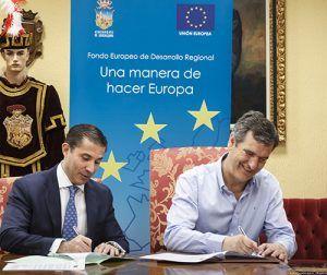 El Ayuntamiento de Guadalajara y REHACSA suscriben el contrato para la ejecución de la remodelación del mercado de abastos