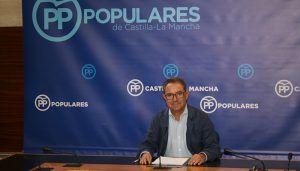 El PP critica la hipocresía de Page con el tema catalán, cuando él está gobernando en C-LM con los que apoyan a los independentistas