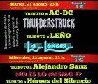 El tributo a AC-DC y a Leño y la representación de la obra de teatro 'Jueves Lardero' para este martes de feria en Cuenca
