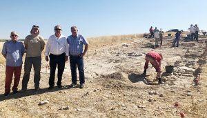 El yacimiento arqueológico de Driebes tendrá este lunes una jornada de puertas abiertas